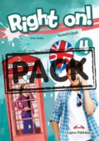RIGHT ON ! 4 JUMBO PACK WITH ENGLISH GRAMMAR