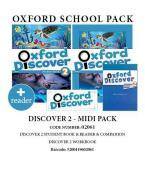 OXFORD DISCOVER 2 PACK MIDI (SB + WORKBOOK + COMPANION + READER) - 02061