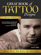 GREAT BOOK OF TATTOO DESIGNS  Paperback