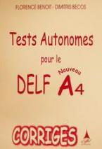 Tests autonomes pour le nouveau DELF A4