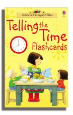 FARMYARD TELLING THE TIME CARDS