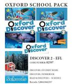 OXFORD DISCOVER 2 PACK EFL (incl. STUDENT'S BOOK + WORKBOOK + READER: SCHOOLS) - 02597