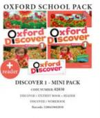 OXFORD DISCOVER 1 PACK MINI (SB+ WORKBOOK+READER) - 02030