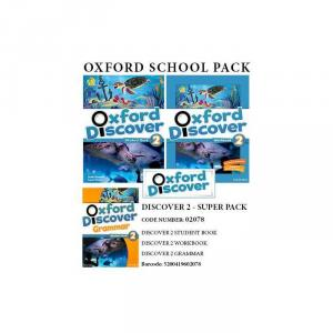 OXFORD DISCOVER 2 SUPER PACK (Student's Book + Workbook + GRAMMAR + COMPANION + READER) - 02078