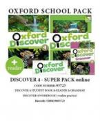 OXFORD DISCOVER 4 SUPER PACK ONLINE (Student's Book + Workbook WITH ONLINE PRACTISE + GRAMMAR + READER) - 03723