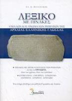 Λεξικό με πίνακες ομαλών και ανωμάλων ρημάτων της αρχαίας ελληνικής γλώσσας