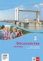DÉCOUVERTES 2 SÉRIE BLEUE, CAHIER D'ACTIVITES MIT MP3 -CD UND VIDEO-DVD