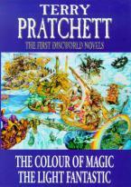 THE FIRST DISCWORLD NOVELS : COLOUR OF MAGIC, LIGHT FANTASTIC HC