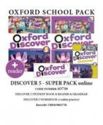 OXFORD DISCOVER 5 SUPER PACK ONLINE (Student's Book + Workbook WITH ONLINE PRACTISE + GRAMMAR + READER) - 03730