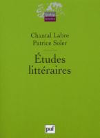 ETUDES LITTERAIRES  POCHE