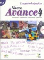 AVANCE NUEVO 4 EJERCICIOS (+ AUDIO CD)