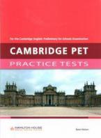 CAMBRIDGE PET PRACTICE TESTS STUDENT'S BOOK