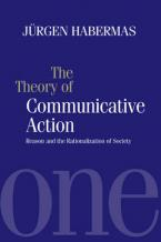 THEORY OF COMMUNICATION ACTION VOLUME 1  Paperback