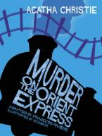 MURDER ON THE ORIENT EXPRESS COMIC STRIP ADAPTED BY FRANCOIS RIVIERE HC
