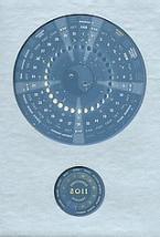 Κυκλικό σεληνοηλιακό ημερολόγιο 2011