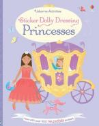STICKER DOLLY DRESSING : PRINCESSES  Paperback
