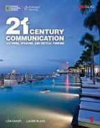 21ST CENTURY COMMUNICATION 1: LISTENING, SPEAKING AND CRITICAL THINKING STUDENT'S BOOK (+ ONLINE W/B)