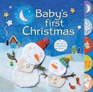 USBORNE : BABY'S FIRST CHRISTMAS (+ AUDIO CD) HC