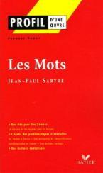 PROFIL D'UNE OEUVRE : LES MOTS Paperback