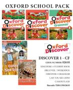 OXFORD DISCOVER 1 PACK CF (SB+ WORKBOOK+GRAMMAR+ 2 READERS CAN YOU SEE THE LIONS/ CAMOUFLAGE) - 02610