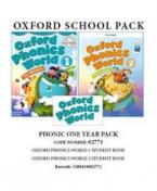 PHONIC ONE YEAR PACK (OXFORD PHONICS WORLD 1 Student's Book+ OXFORD PHONICS WORLD 2 Student's Book) - 02771