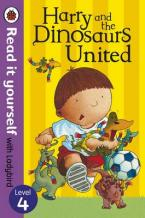 READ IT YOURSELF 4: HARRY AND THE DINOSAURS UNITED Paperback
