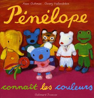 PENELOPE : PENELOPE CONNAIT LES COLEURS HC BBK