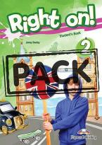 RIGHT ON ! 2 JUMBO PACK WITH ENGLISH GRAMMAR