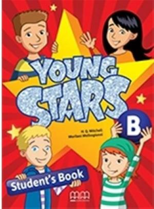 YOUNG STARS JUNIOR B Student's Book WITH ONLINE TEST