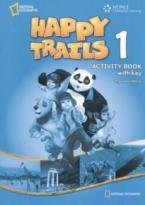 HAPPY TRAILS 1 WORKBOOK WITH KEY