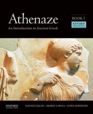 ATHENAZE BOOK 1: AN INTRODUCTION TO ANCIENT GREEK 3RD ED