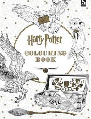 HARRY POTTER -THE OFFICIAL COLOURING BOOK Paperback