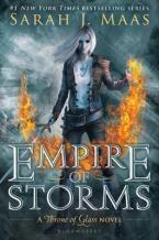 THE THRONE OF GLASS EMPIRE OF STORMS  Paperback