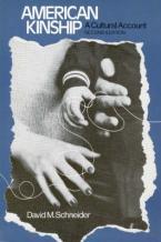 AMERICAN KINSHIP : A CULTURAL ACCOUNT Paperback