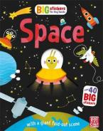 BIG STICKERS FOR TINY HANDS: SPACE Paperback