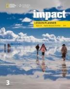 IMPACT 3 LESSON PLANNER (+MP3 AUDIO CD +TEACHER RESOURCE CD-ROM & DVD) - AMER. ED.