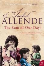 THE SUM OF OUR DAYS  Paperback