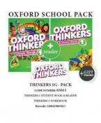 OXFORD THINKERS 1G PACK (Student's Book + Workbook + READER + GIFT VOUCHER) - 03013