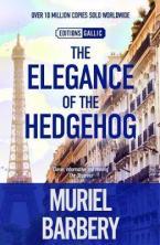 THE ELEGANCE OF THE HEDGEHOG Paperback B FORMAT