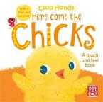 HERE COME THE CHICKS : A TOUCH AND FEEL BOARD BOOK WITH A FOLD-OUT SURPRISE HC BBK