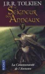 LE SEIGNEUR DES ANNEAUX - TOME 1 LA FRATERNITE DE L'ANNEAU POCHE
