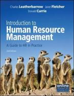 INTRODUCTION TO HUMAN RESOURCE MANAGEMENT A GUIDE TO HR IN PRACTICE Paperback