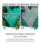 OXFORD DISCOVER FUTURES 3 MINI PACK (Student's Book+ Workbook (+ONLINE) +WORDLIST) - 04867