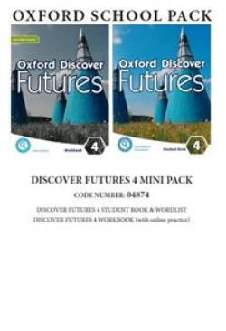 OXFORD DISCOVER FUTURES 4 MINI PACK (Student's Book+ Workbook (+ONLINE) +WORDLIST) - 04843