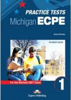 ECPE TESTS FOR THE MICHIGAN PROFICIENCY 1 Student's Book (+ DIGIBOOKS APP) 2021 FORMAT