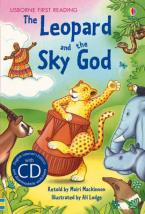 USBORNE FIRST READING : THE LEOPARD AND THE SKY GOD (+ CD) HC