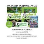 OXFORD DISCOVER 4 PACK CF (incl. STUDENT'S BOOK + WORKBOOK + GRAMMAR LAB 3) - 02634