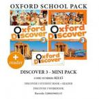 OXFORD DISCOVER 3 PACK MINI (incl. STUDENT'S BOOK + WORKBOOK + READER) - 02115