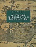 A Catalogue of Printed Maps of Greece 1477-1800