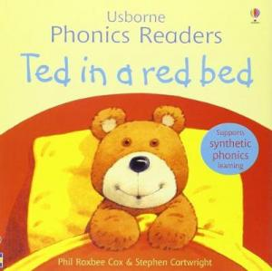 USBORNE PHONIC READERS : TED IN A RED BED Paperback